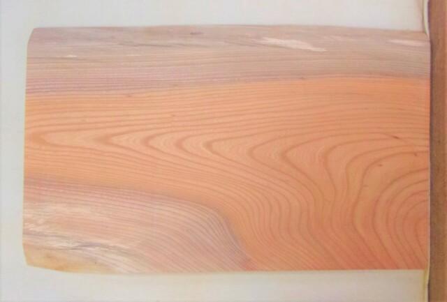 【送料・手数料無料】 山成林業 小無垢一枚板 KD-614 ケヤキ看板に最適