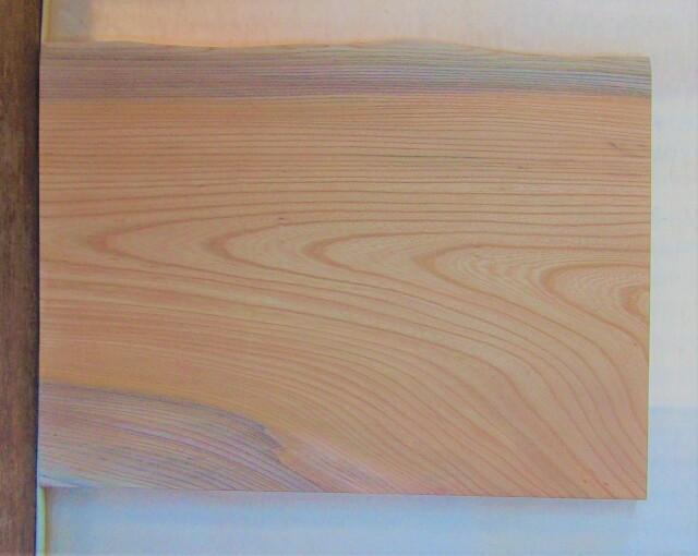 【送料・手数料無料】 山成林業 小無垢一枚板 KD-619 ケヤキ看板に最適