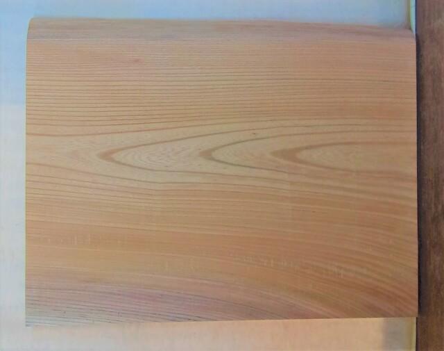 【送料・手数料無料】 山成林業 小無垢一枚板 KD-620 ケヤキ看板に最適