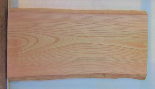 【送料・手数料無料】 山成林業 小無垢一枚板 KD-621 ケヤキ看板に最適