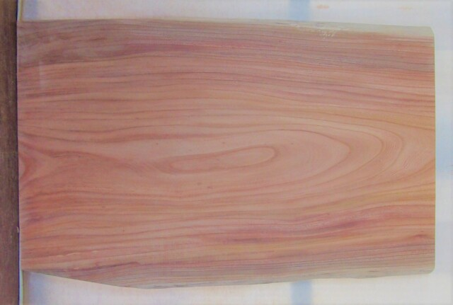 【送料・手数料無料】 山成林業 中型無垢一枚板 KC-625 ケヤキ 中型看板に最適