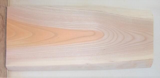 【送料・手数料無料】 山成林業 小無垢一枚板 KD-647 ケヤキ看板に最適