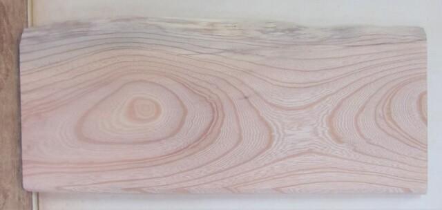 【送料・手数料無料】 山成林業 特小無垢一枚板 KE-646 ケヤキ看板に最適