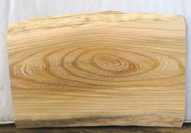 看板 椅子に最適 600×400×35mm けやき板 KE-901