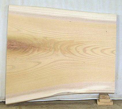 【無垢一枚板】山成林業 木製看板素材F-166 けやき板 540×490×37mm