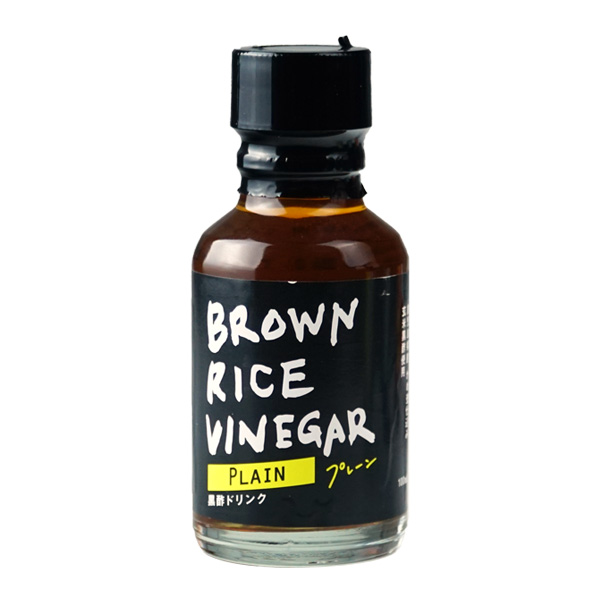 BROWN RICE VINEGAR	  プレーン