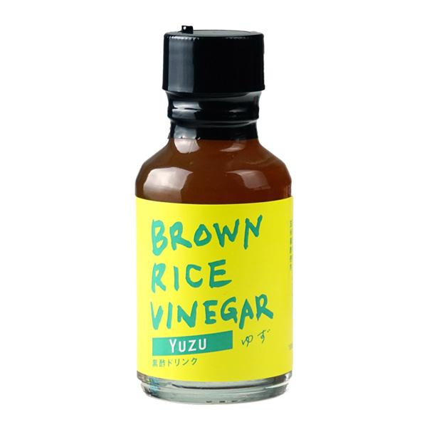 BROWN RICE VINEGAR ゆず