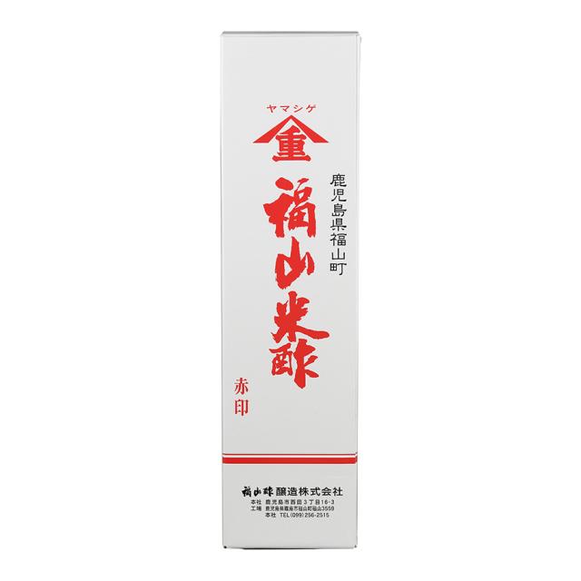 福山米酢 赤印 1800ml 化粧箱