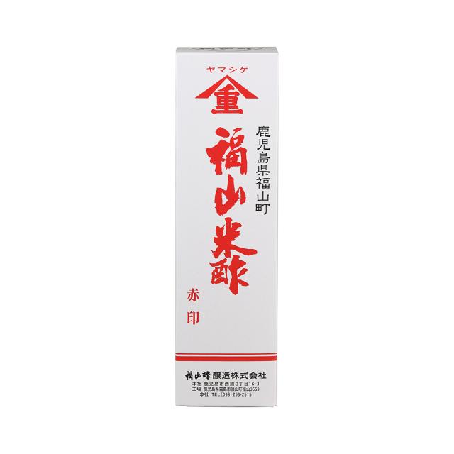 福山米酢 赤印 900ml 化粧箱
