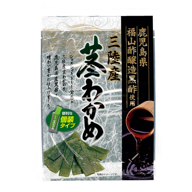 黒酢 茎わかめ 70g(個包装)