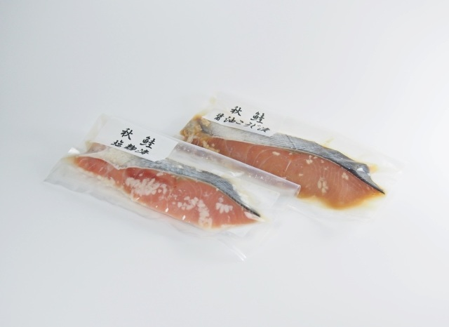 秋鮭パッケージ