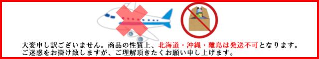 北海道・沖縄・離島は発送不可となります