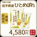 【令和2年産】【送料無料】岩手農薬節減米ひとめぼれ10kg(5kg×2袋)