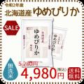 北海道産ゆめぴりか無洗米10kgSALE