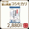 新米【令和2年産】【送料無料】富山県産コシヒカリ 白米 5kg(5kg×1袋)
