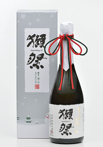 獺祭 二割三分スパークリング クリスマスボトル720ml