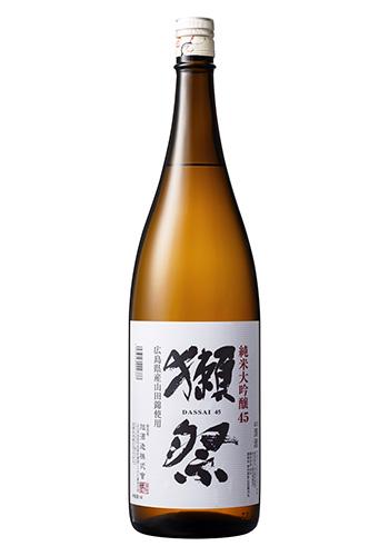 【ご当地獺祭】 獺祭(だっさい) 純米大吟醸45 広島県産山田錦使用 1800ml