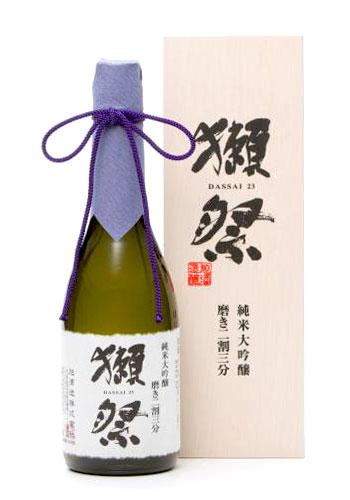 獺祭(だっさい) 純米大吟醸 磨きニ割三分 木箱入り 720ml