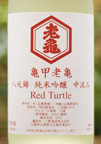 亀甲老亀 Red Turtle 2017