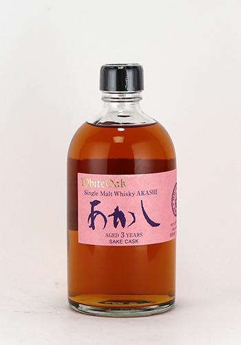 シングルモルトあかし 日本酒カスク