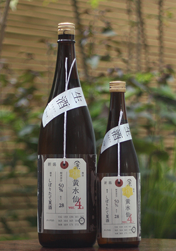 加茂錦 荷札酒 黄水仙 純米大吟醸 生