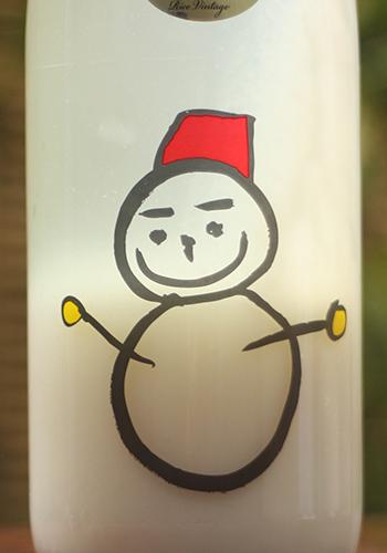 仙禽 雪だるま