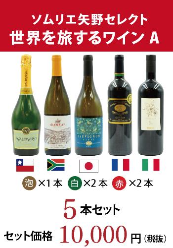 世界を旅するワインセット