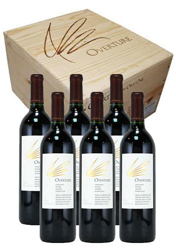 オーヴァチャー (Overture) N.V. 750ml 6本セット(木箱入り) オーパス・ワンのセカンドワイン