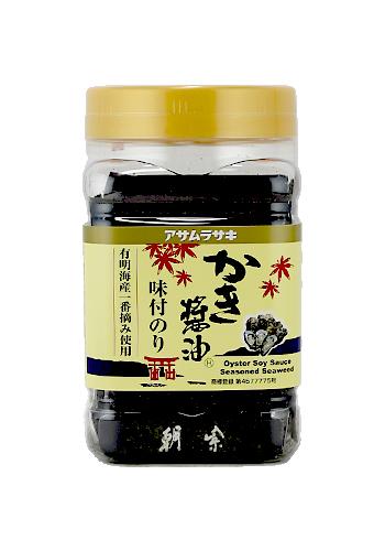 【アサムラサキ】かき醤油味付のり 8切60枚
