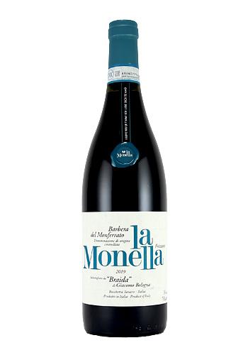 バルベラ・デル・モンフェラート 「ラ・モネッラ」 2019 ブライダ(Braida Monferrato La Monella Barbera del Monferrato) 750ml