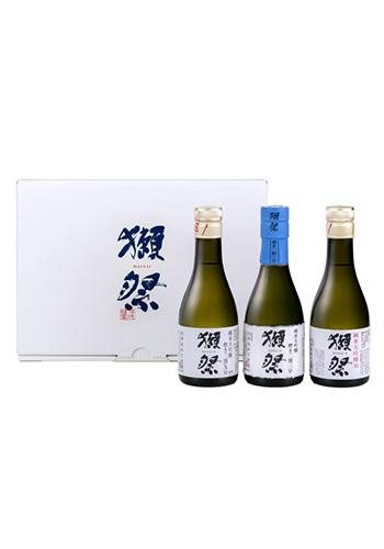 獺祭(だっさい) お試しセット(純米大吟醸 二割三分・三割九分・45) 180ml×3本