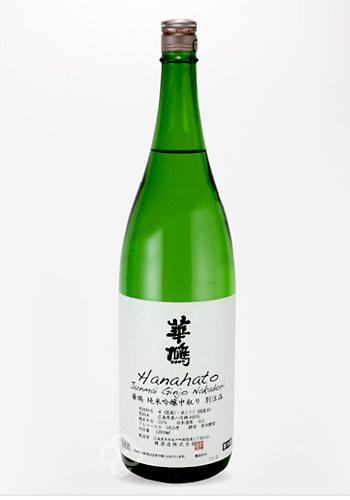 華鳩(はなはと) 純米吟醸 中取り 別注品 1800ml
