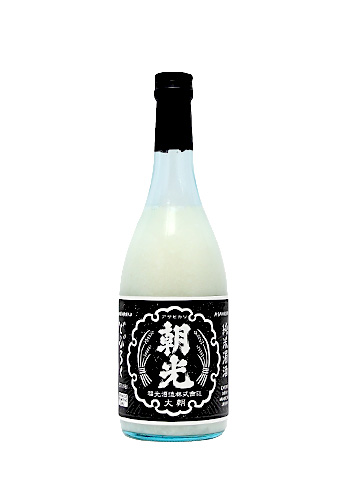 朝光(あさひかり) 純米濁酒(生酒)どぶろく 720ml