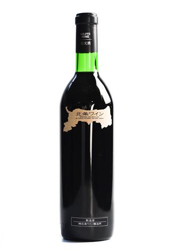 北条ワイン 地図ラベル 赤 720ml
