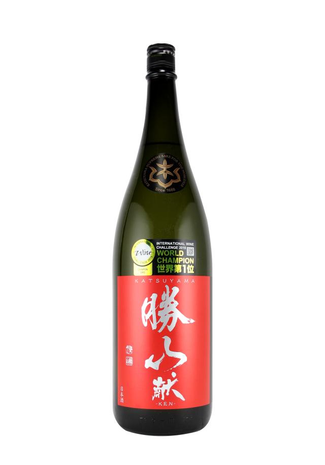 勝山 純米吟醸 献 1800