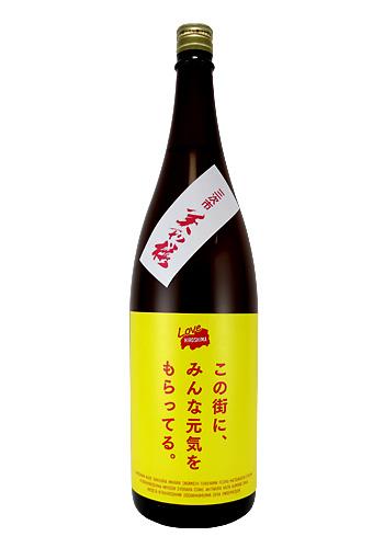 【Love Hiroshima】 美和桜(みわさくら) 純米酒 1800ml (Tj Hiroshima×大和屋酒舗 特別ラベル)
