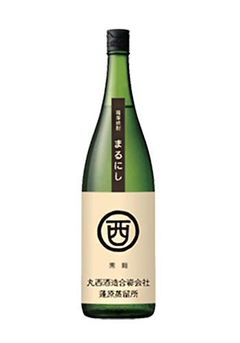 丸西(まるにし) 黒麹 芋焼酎25° 1800ml