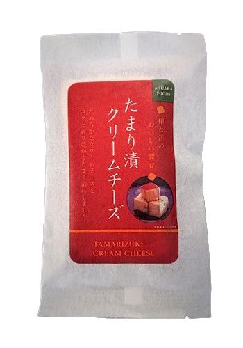 【三原食品】 たまり漬クリームチーズ 75g