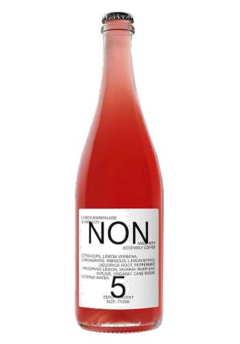 NON(ノン) No.5 レモン・マーマレード&ハイビスカス(LEMON MARMALADE & HIBISCUS)ノンアルコールドリンク 750ml
