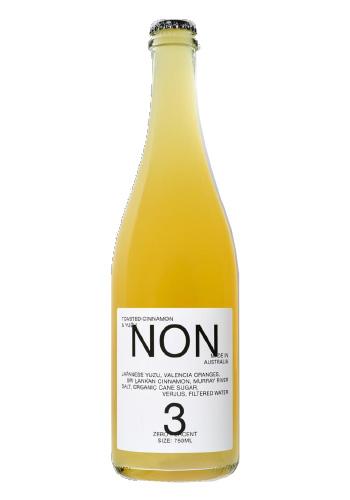 NON(ノン) No.3 トースティッド・シナモン&ユズ