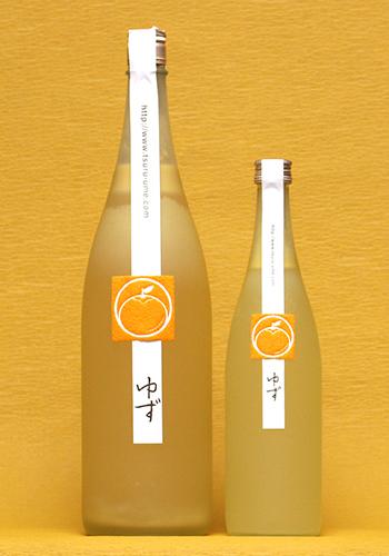 鶴梅(つるうめ) ゆず酒