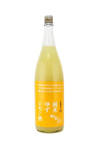 富久長(ふくちょう) 純米ゆずレモン酒 1800ml