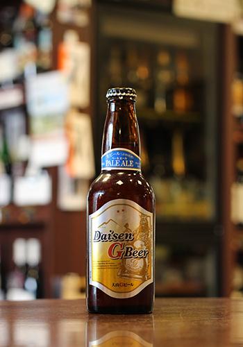 大山(だいせん)Gビール ペールエール 330ml