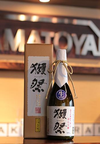 獺祭(だっさい) 純米大吟醸 磨き二割三分 遠心分離 おりがらみ 元旦届け 720ml