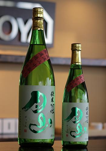 月山(がっさん) 純米吟醸 佐香錦 中取り直汲み 生原酒