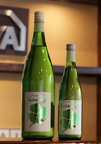 三井の寿(みいのことぶき) 春純吟 QuadriFoglio(クアドリフォリオ) 生酒
