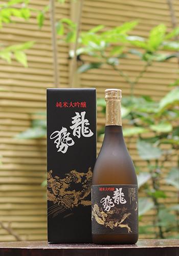 龍勢(りゅうせい) 純米大吟醸 黒ラベル 720ml