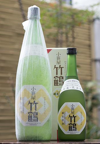 小笹屋竹鶴(おざさやたけつる) 大和雄町(だいわおまち) 純米原酒