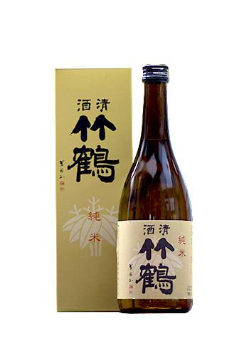 竹鶴(たけつる) 純米 720ml