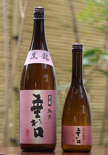 黒龍(こくりゅう) 純米吟醸吟醸 垂れ口(たれくち) 薄にごり生原酒 1800ml